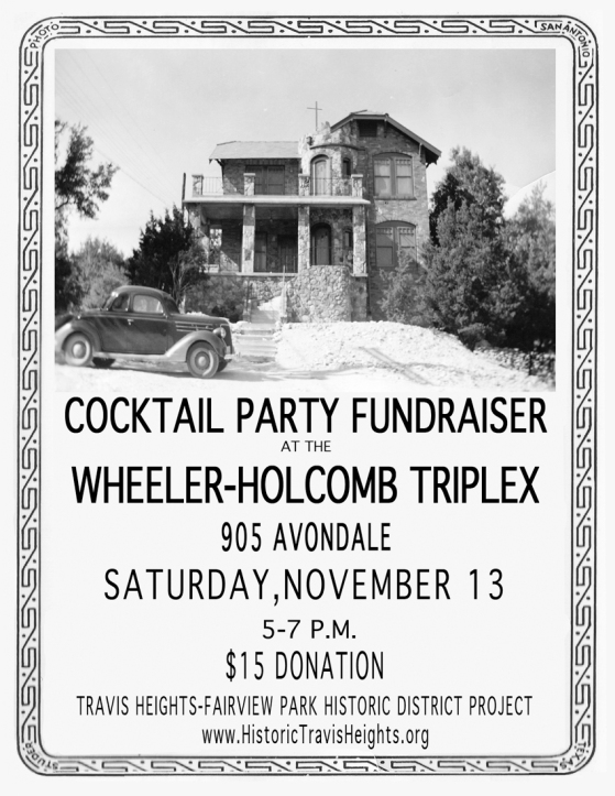 Party Poster for Benefit
